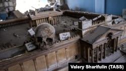 Разрушенный Национальный музей Пальмиры