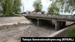 Оросительное ответвление Северо-Крымского канала в пгт. Красногвардейское