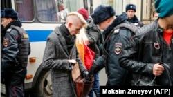 Задержания активистов в Москве, 5 ноября