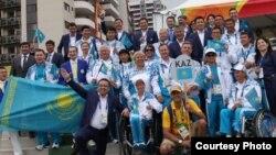 Паралимпийская сборная Казахстана в Рио.