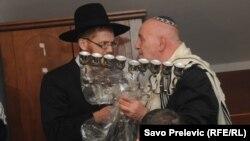 Sa otvaranje prve sinagoge u Crnoj Gori, Podgorica, 4. novembar 2013.