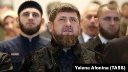 Рамзан Кадыров с товарищами (архивное фото)