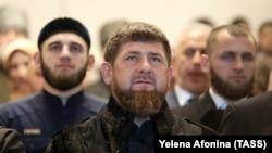 Ramzan Kadirov în prim plan