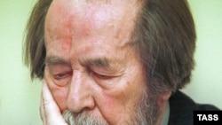 Александр Солженицын, 25 апреля 2001 года