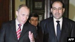 المالكي وبوتين في لقاء سابق بموسكو