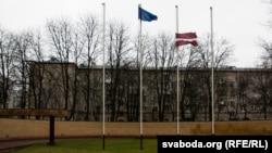 Латвійская амбасада ў Менску