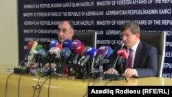 Elmar Məmmədyarov və Ahmet Davutoğlu