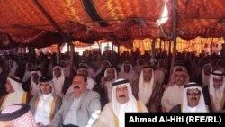 شيوخ العشائر العراقية في مؤتمرهم في الانبار