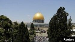 Мечеть Аль-Акса в Иерусалиме.