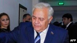 Председатель Милли Меджлиса Азербайджана Огтай Асадов, 2013