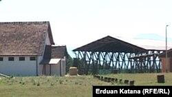 Mjesto nekadašnjeg logora Manjača, 2012.