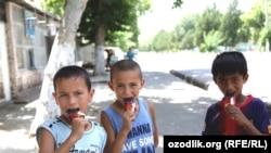 Өзбек балдар