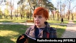 Інна Бондіні, начальник управління Державного центру зайнятості. Київ, квітень 2020