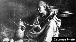 Жүз жыл мурдагы кыргыздар. Архивдик сүрөт