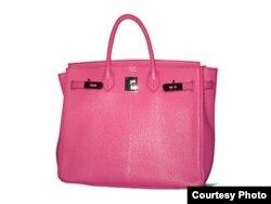 Розовая Birkin