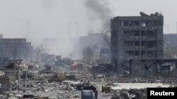 Пожар в Тяньцзине, Китай