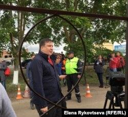 Михаил Саакашвили появился чуть позже
