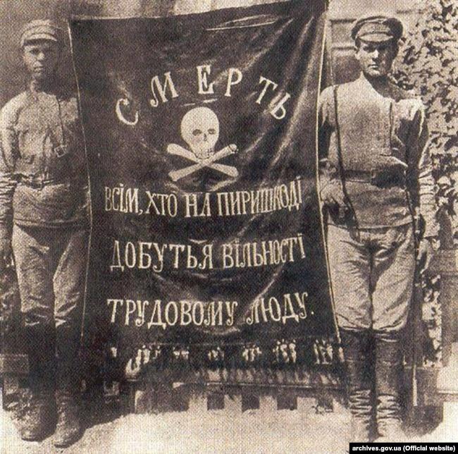Найбільша республіка анархістів - Україна