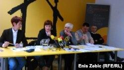 Sa konferencije za novinare nevladinih udruga i dijela sindikata o reformi zdravstva