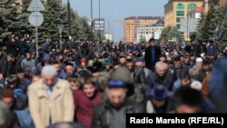 The clashes came a day after thousands attended a protest approved by the authorities against land swaps with Chechnya, where demonstrators called for Ingushetia's head, Yunus-Bek Yevkurov, to step down.