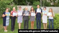 Акція українських дипломатів у Словенії