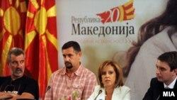 Министерката за култура Елизабета Канческа-Милевска