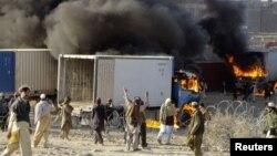 Немирите во Авганистан на анти-американските протести