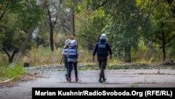 Група СММ ОБСЄ у населеному пункті