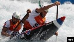 Canoiști în acțiune la JO de la Rio