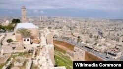 Старажытная частка Алепа, архіўнае фота