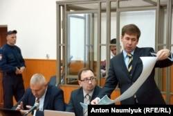 Адвокаты на процессе по делу Надежды Савченко