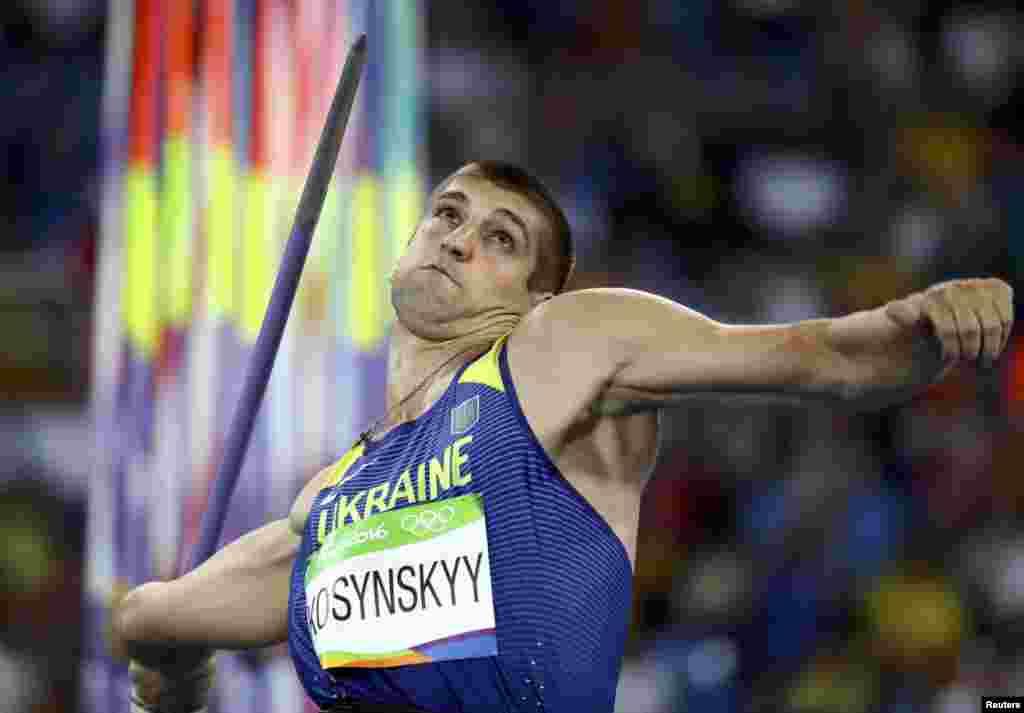 Український легкоатлет Дмитро Косинський кваліфікувався до фіналу змагань у метанні списа