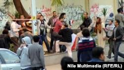 اشتباكات بين معارضين للرئيس المصري ومؤيدين له