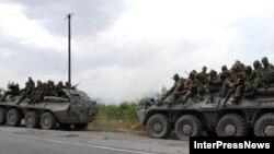 В Гори не пускают грузинскую полицию и журналистов