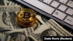 Bitcoin. İllüstrasiya