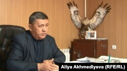 Ұйғыр ауданы орман шаруашылығы басшысы Камалжан Юлдашев.