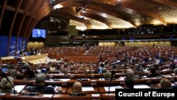 France -- A session of the Council of Europe's Parliamentary Assembly, Strasbourg.