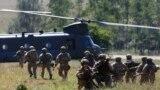 Militari americani la manevrele din Hohenfels, Germania. 26 august 2015