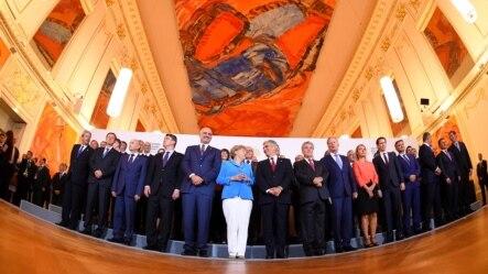 Učesnici Samita u Beču