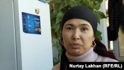 Турсынай Зияудун, этническая уйгурка из Китая.