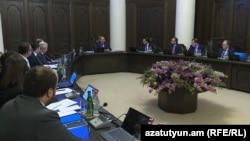The Armenian government in session (file photo)