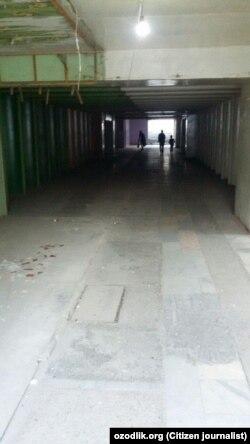 Подземный переход в городе Намангане.