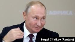 Президент Росії Володимир Путін. Жовтень 2019 року