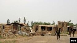 Архива - Припадници на авганистанските безбедносни сили во Кундуз.