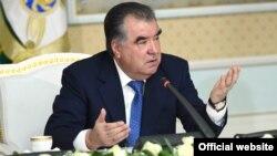 Эмомали Рахмон, президент Таджикистана.
