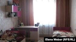 Одна из комнат, в которой проживают воспитанники дома юношества. Темиртау, 2 марта 2012 года.