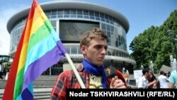 Orthodox And Gay Rights Activists Clash In Georgia