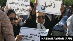 İranda qadın haqları aksiyası (arxiv fotosu)