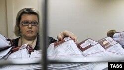 Միացյալ Նահանգների վիզաների համար դիմումներ Մոսկվայում ԱՄՆ-ի դեսպանատանը, արխիվային լուսանկար