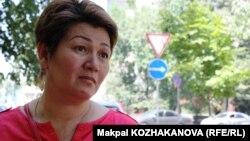 Предприниматель Гаухар Абишева. Алматы, 6 августа 2013 года.